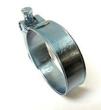 "ONE BOLT HOSE CLAMP T BOLT ZINC PLATED 64 ~ 67mm, 2-1/2"" ~ 2-5/8"" NEW <HC917"