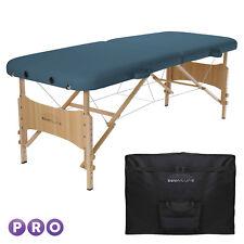 Basic Portable Folding Massage Table - Blue