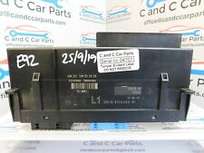 BMW 3 Series Body Control Module BCM 9134483 E92 25/9