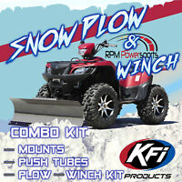 TPK-004-1396560007 HONDA RINCON SEE DESC Tusk SubZero ATV Snow Plow Mount