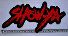 Show Ya Patch Embroidered Large Size sew on Aufnäher パッチ Show-ya backpatch jrock