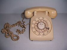 Vintage Bell System Western Electric  Phone Beige Rotary Telephone