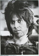 """ROLLING STONES POSTER """"KEITH RICHARDS HILTON HOTEL BRUSSELS 1976"""""""