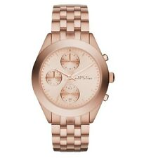 NEW MARC JACOBS MBM3394 ROSE GOLD LADIES PEEKER WATCH - 2 YEAR WARRANTY