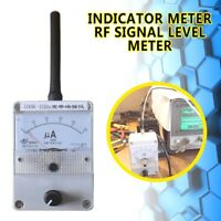 100K-1000MHz Field Strength Indicator Meter RF Signal Level Meter & Antenna