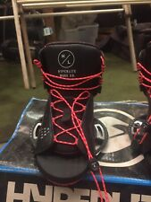 Red Hyperlite Wakeboard Bindings UK 3-6