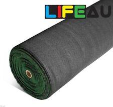 70% UV BLACK Shadecloth 1.83m x 8m Domestic Heavy Duty Shade Cloth