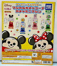 Disney Mickey & Minnie Magical Gacha Kohde Mini Capsule Machine - Takara Tomy ,