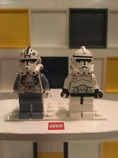 LEGO Star Wars - Rare - Episode 3 Clone Pilot & Clone Trooper - Excellent