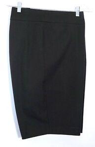 "NWT $69 Chico's So Slimming Brigitte Shorts, 11"" Inseam, Black"