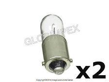Audi (1988-2003) Bulb 4W License Plate Light NEW (2) + 1 year Warranty