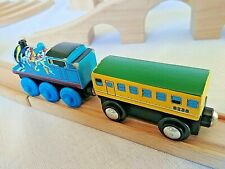 Thomas the Train IKEA WOODEN TRAIN TRACK BUNDLE with Locomotives and Train Cars