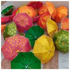 Sale 100 PC Lots Indian Wedding Decoration Umbrella Mehndi Party Night Umbrella