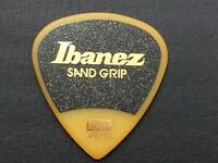 Guitar Pick IBANEZ SAND GRIP Yellow HEAVY PA16HSG-YE from JAPAN