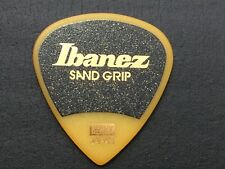 Guitar Pick IBANEZ SAND GRIP Yellow HEAVY from JAPAN