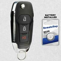 For 2015 2016 2017 2018 2019 2020 Ford F-150 F-250 F-350 Remote Flip Key Fob