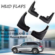 4pcs Mud Flaps For Mercedes Benz GLC Class X253/C253 2016-2019 Splash Guards