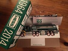 2014 HESS CASE (3) IN BOX 50TH ANNIVERSARY LIMITED EDITION  TRUCK SOLD OUT!!!