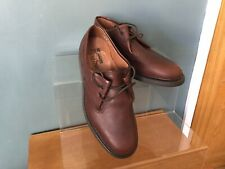 LOTUS ORIGINALS PLAY BUCK LANCER BROWN LEATHER LACE UP SHOES SIZE 7....