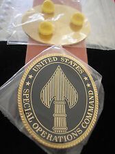 REPLICA UNITED STATES SPECIAL OPERATIONS COMMAND (USSOCOM) - POCKET BADGE