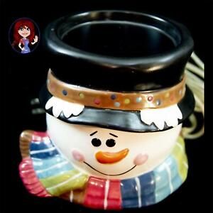Gold Canyon #82997 Snowman Scent Pod Warmer Winter Holiday Christmas Snow!