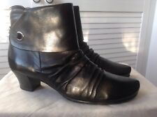 Jana black leader ankle boots 5.5(6) BNNT