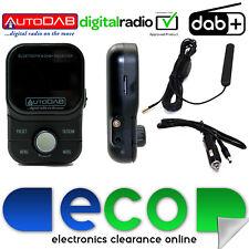 AutoDAB A2DP coche manos libres Bluetooth en streaming de música DAB + Digital Sintonizador de radio