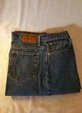 Ladies Faded Glory Riveted Jeans Straight Leg Size 14