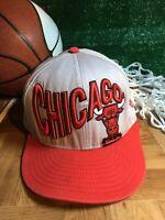 Chicago bulls rare new era snapback hat cap Hardwood classics gray h52