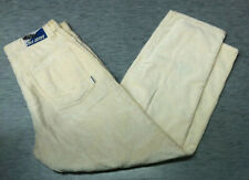 Vintage beige Rise Above aggressive inline skate corduroy baggy loose pant 34
