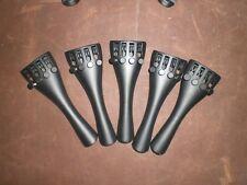 5 PCs 3/4 Violin Tailpiece, Aluminum Alloy Violin Tail piece