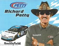 "2013 RICHARD PETTY ""SMITHFIELD #43 1ST VERSION NASCAR SPRINT CUP SERIES POSTCARD"