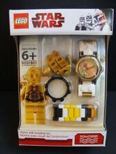 NEW LEGO STAR WARS C-3PO Kids Watch + Minifigure 9001901 Brick Link Band NIB