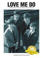 THE Beatles Love Me Do CINQUANTESIMO ANNIVERSARIO EDIZIONE PIANOFORTE CHITARRA PVG LIBRO MUSICA