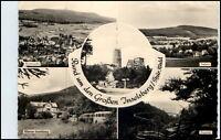 DDR Ansichtskarte Thüringen 1961 Inselsberg mit Brotterode Tabarz u. Trusetal