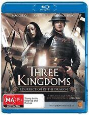 Three Kingdoms BLU-RAY Maggie Q Andy Lau chinese movie english subtitles RegionB