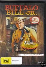 BUFFALO BILL JR. -  DVD - 3  HEROIC EPISODES - NEW -