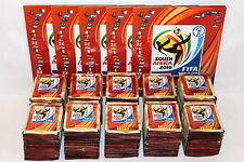 Panini WC WM 2010 South Africa – 1.000 TÜTEN PACKETS GLITZER SHINY + 5 x ALBUM