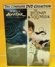 "Avatar & The Legend Of Korra Complete Series Collection (DVD, 2019) ""NEW"""