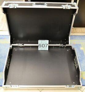 FLIGHTCASE 607 Haubencase Profi Zubehörcase Holz Case Spezial Case Holz schwarz