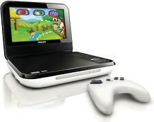 "Philips PD703/37 7"" White Portable DVD Player with Wireless Game Controller"