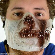 Fiesta de Halloween Disfraz elaborado Stag cara Poizen Industries Zombie cubriendo carne