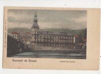 Souvenir de Dinant Hotel Des Postes Belgium Vintage U/B Postcard 615b
