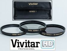 HD Filter Set (UV Polarizer & FLD) For Panasonic Lumix G Vario 45-200mm Lens