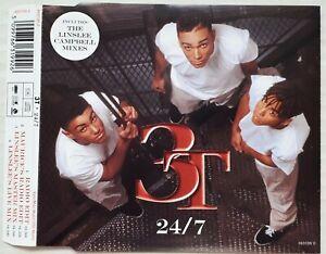 3T - 24/7    (1996 CD SINGLE)
