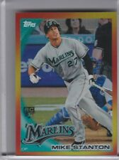 2010 TOPPS CHROME #RHR4 MIKE STANTON ROOKIE RC REDEMPTION REFRACTOR MARLINS A138