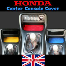 Honda Civic Suede Centre Console Cover - EJ EK EK9 Interior Dash Type R SiR VTI