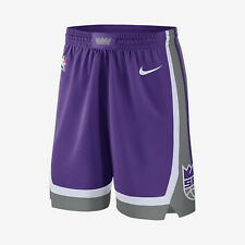 Nike Sacramento Kings  Icon Edition Swingman Men's Shorts M L XL Purple Gray