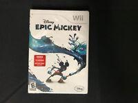 Epic Mickey 1 Disney (Nintendo Wii) Brand New Factory Sealed