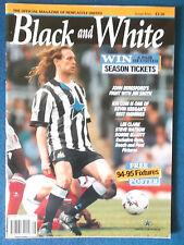 Newcastle United - Black & White Magazine - 1994 -Issue 5 - Darren Peacock Cover